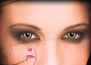 Lentes de contacto de color glamour distribuci n de - Definicion de glamour ...